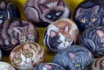 Painted Rocks / by All Things Art
