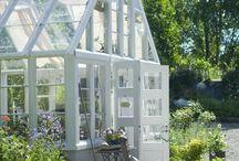 Drivhus ideer / Hjemme konstruerede drivhuse med indretnings ideer!