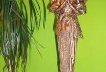 PAVERPOL / POWERTEX ANGEL 1 / Anjeli nielen na Vianoce, lebo  ANJELOV NIKDY NIE JE DOSŤ :)  /  Paverpol/ powertex sculpture