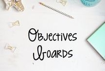 Objectives board/Learning Targets