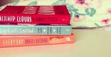 BOOKS ❁ / Reading makes me feel like I'm in a different world.