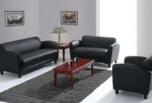 Manhattan Series... Contemporary Styling and Exceptional Value! / Contemporary styling and exceptional value makes the Manhattan Series an outstanding choice. Features top grain leather seating surfaces with heavy duty spring construction for superior comfort.