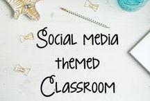 Social Media School Theme / Social Media theme bulletin boards for 2015/16