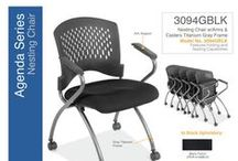 Agenda Series... Ideal Solution for Your Folding or Stacking Chair Needs / Whether you are outfitting an auditorium, dining room or class room, these chairs are the ideal solution for your folding or stacking chair needs. All chairs are made with heavy duty materials and bolt to be both comfortable and durable. Greenguard Certified.