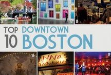 To do in Boston / There is no better place than New England! Whether it's Boston or the Cape all the way to Maine there are so many beautiful sites to see, and things to do!