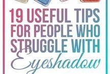 Makeup Technics / TOUT TOUT TOUT ce que vous devez savoir sur le maquillage. Les TIPS nets concis, qui feront de vous une makeup Artist accomplie et... heureuse ! ENJOY !