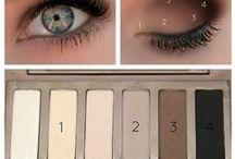 Makeup Palettes Tutos / Les Tutos qui vont avec vos palettes ! Si, si ! Parce qu'on n'a pas toujours la science infuse pour utiliser la Rolls makeupesque qu'on vient de (s')nous offrir... Fouinez, vous trouverez bien le vôtre... et puis une mine d'idées makeup, aussi... ;)