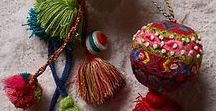 Tassels + Bags / Tassels   Inspire your textile art with tassels   art tassels   tassel ideas   amazing tassels   decorate with tassels   colourful tassels   fabric tassels   fibre art tassels   textile tassels   tassels for the home  