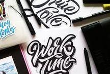 Typography. / I love great typography!