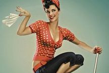 Pin-up Girls. / Pinup art and photography. Old and new.