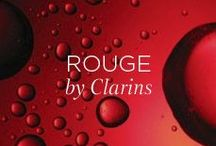 Rouge by Clarins / Filled with red stuff. Enjoy.