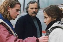 BELMA (Fiction, 75 min) / An award winning feature, starring Rade Serbedja and Börje Ahlstedt. The war in former Yugoslavia is suddenly very present for the 16-year-old Rasmus when he meets and falls in love with refugee girl Belma who lives with her father and other refugees on a ship in Copenhagen harbour. One day Belma's father recognizes one of his torturers from prison camp among the refugees on the boat. The executioner is attacked and Belmas father gets arrested. Rasmus and Belma must prove his innocence.
