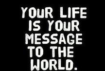 Inspiring quote & saying