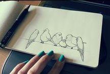 Moleskine // Art journals // Sketchbook / Crafty inspiration