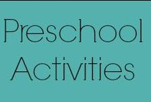 Preschool Activities - Early Learning and Development / Home school style preschool activities for early learning! Activities for older infants, toddlers and preschoolers designed to keep little hands busy and learning. Featuring pins for fun projects and educational activities.