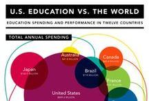 Education Infographics / Use them as classroom wall art or keep them for yourself — these education infographics are a great way to visualize important data and help students success worldwide