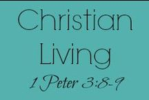 Christian Living - Jesus Inspired Lifestyle / A board full of encouragement for your daily walk with the Lord, featuring pins and posts of topics that touch the Christian's heart. Whether it's Bible study, or church stuff, Christian news, or Scripture word art. If we think it will uplift you as you follow Jesus, we'll share it.  / by Christie H.