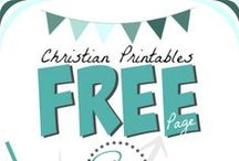 Free Christian Printables - Women & Families / Finding and pinning free Christian printables, scripture art prints, encouragements, prayer journal inserts, and more for Christian women and families. ---> Welcoming PINNERS <---  **A Brand New Mega-Resource Pinterest Board for Christians!**