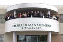 "Emerald Management & Realty Ltd. ""Successoires"" / Our version of ""successoires"" in acknowledgement of the talents our team contributes to each one of us and the understanding that our accomplishments is a result of their contribution."