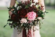 Wedding Boquet Inspiration / Dreaming of the perfect wedding boquet? Inspiration for bright blooms, classic and bridesmaids boquets!