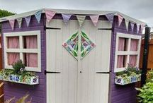 Customer Images / Collection of some of our favourite customer images of their sheds and log cabins.