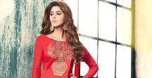Lace Worked Salwar Suits
