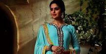 Resham Worked Salwar Suits
