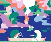 Illustration / Style and design of beautiful illustrations.