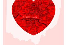 Cincinnati & Northern KY / We call northern Kentucky & the Cincinnati, Ohio area our home.  This what makes it cool!
