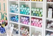 Shop Mallory Studio Ideas / Design, storage, inspiration, organization, and art!