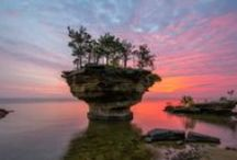 Must-see Michigan Destinations / A few of Michigan's must-see destinations that excite us, awaken our senses and spark our imaginations. Discover more at michigan.org. / by Pure Michigan