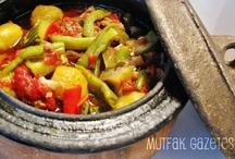 sebze yemekleri/etli sebzeler/bakliyat yemekleri