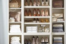 CLOSET & DRESSING ROOMS / A place for everything ... true luxury being able to find everything every time .... to see some of my own designs please visit  www.anneshomeandgarden.com
