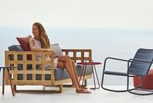 Sofa and lounge garden furniture / Outdoor sofas and lounge furniture in contemporary Danish design