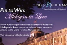 Pin to Win: Michigan in Love / We're offering one lucky fan the chance to win a romantic getaway for two to Grand Hotel on Mackinac Island. Visit michigan.org/blog for details. / by Pure Michigan