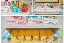 Classroom Organization / Tips and tricks to get your classroom organized!