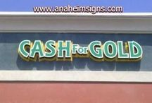 Channel Letter Signs / Some Channel Letter Signs I designed, made, and Installed http://anaheimsigns.biz