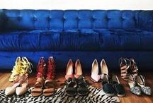 Shoe Game / I like my money right where I can see it. All lined up and organized by heel height!