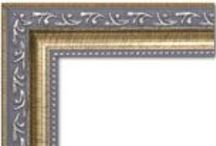 Framed Artwork / Selections of artwork matched with frames that compliment them.