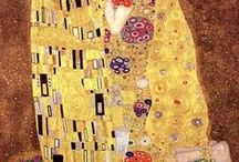 Gustav Klimt / Gustav Klimt, (14 July 1862 – 6 February 1918) born near Vienna, is considered one of the major representatives of the Art Nouveau. In his drawings, painting and frescoes, he dispenses with spatial effects emphasizing ornamental and decorative elements, often supported by his mosaic-type use of gold and silver coating, which was marked by positive critical reaction and great success.