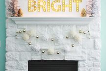 To: b e  f e s t i v e // C H R I S T M A S / Holiday Decor, Traditions, and Wintertime.
