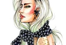 Fashionably Copic / Fashion illustration plays a crucial role in surfacing ideas into the popular imagination. We show our support of fashion designers who share their love of Copic.