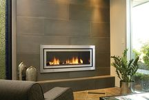 TV Fireplace wall & Cabinets