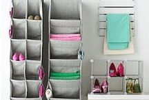 Dorm Decor / DIY crafts, organization, and storage to design your dorm with style!