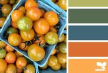 Favorite Color Palette / Color combination and coordination guide for everything from designing to styling.  Mainly from design-seeds