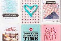 Keeping Memories / Photo and scrapbooking project ideas