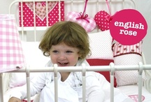 English Rose / Pink, pink, pink and a touch of blue. Engish Rose is romantic theme for gorgeous girls.