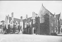 Vintage Postcards of Huntsham Court