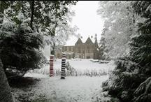 Winter Huntsham Court