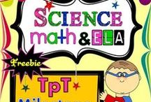 Maths & Science Board / Be a part of this Brilliant classes board......Pin and get the creative stuff to prepare your students in the classroom making some differences each day in learning...  Please visit my profile page on www.teacherspayteachers.com and follow me with my store link....https://www.teacherspayteachers.com/Store/Brilliant-Classes-Science-Math-Ela